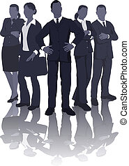 Business team illustration