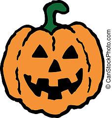 Halloween Pumpkin - Spooky halloween
