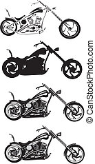 motorcycle - chopper - chopper bike, chopper motorcycle,...