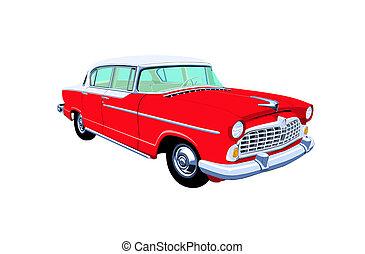 sedan, années cinquante