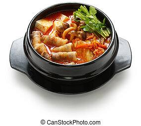 kimchi, guisado
