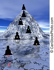 Seven chakras up to the mountain - Seven shadows of...