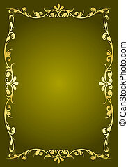 Luxury green background