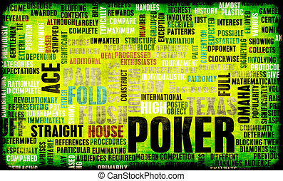 Poker Game of Texas Holdem Rules and Concept