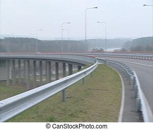 river bridge cars