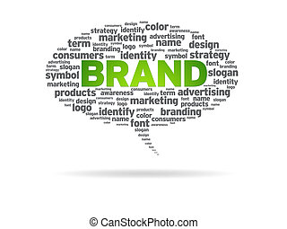 Speech Bubble - Brand