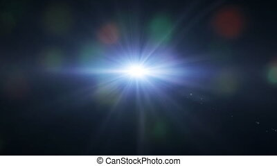 lens flare background