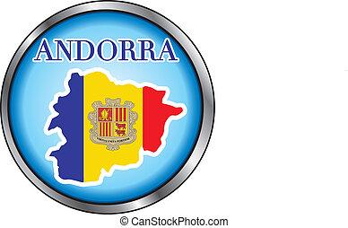 Andorra Round Button