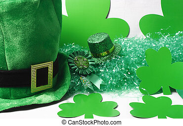 Hats and Green Stuff - An image showing the concept of St...
