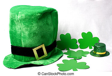 Hats for St Patricks Day - An image showing the concept of...