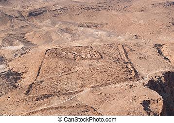 Ruins of Roman encampment - Ruins of Roman military...