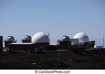 observatory on the Haleakala summit