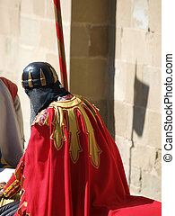Arezzo -  annual medieval festival called the Saracen Joust