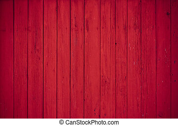 Seamless wooden background - red wooden boards as a...