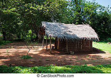 Traditional asian rural house - Traditional asian rural clay...