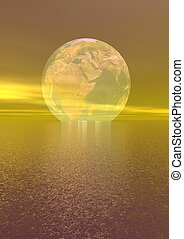 planet - world and landscape