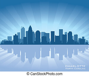Charlotte skyline - Charlotte, North Carolina skyline...