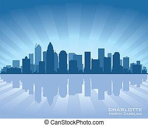 Charlotte skyline - Charlotte, North Carolina skyline...