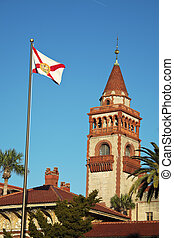 Flagler College - St Augustine historic architecture -...