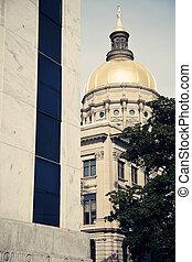 predios, estado,  Atlanta,  capitol