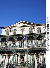 mansão,  Charleston, histórico