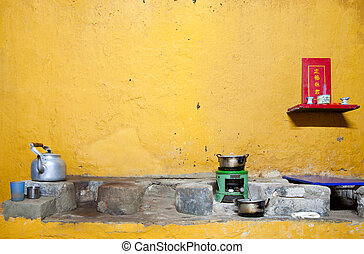Hoi An kitchen - Interior of a traditional kitchen in Hoi...