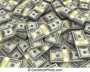 money background  - Large amount of money