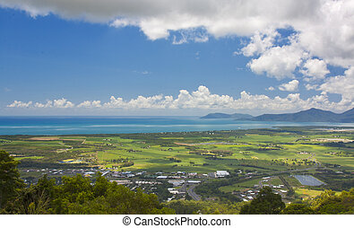 view of Cairns North Queensland Australia