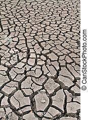arid ground land