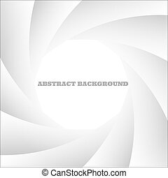 Abstract white shutter photoVector eps10