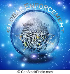 Global Enforcement - Fingerprint ID Enforcement