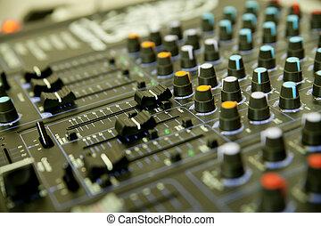 audio, blandare