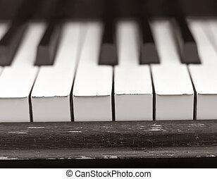 Worn Piano