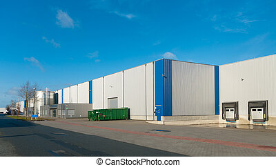 industrial building - newly build industrial warehouse with...