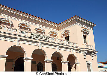 Matanzas, Cuba - city architecture. Decorative architecture...