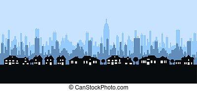 skyline - city skyline