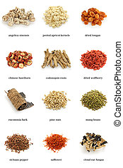 chinese herbal medicine - assortment