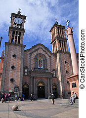 Cathedral church in Tijuana - Exterior of cathedral of Our...