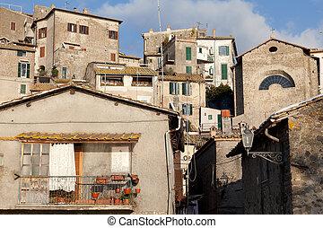 Mediterranean Architecture - Old buildings in mediterranean...