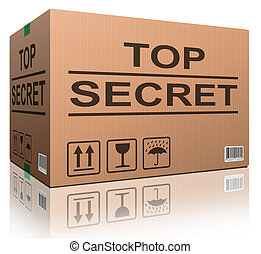 top secret confidential information or classified info big...
