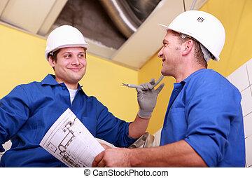 electricistas, Cambiar, vistas