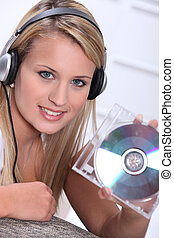 Teens with CD