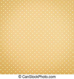 Yellow polka dot background - Yellow background with polka...