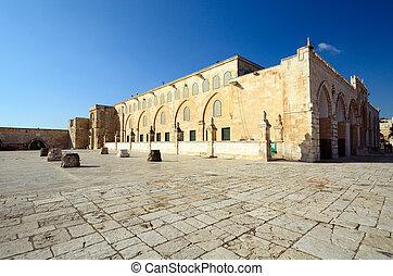 Al-Aqsa Mosque - Al Aqsa Mosque in Jerusalem, the 3rd...