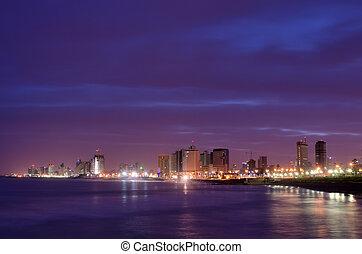 Tel Aviv Skyline - Skyline of Tel Aviv, Israel.