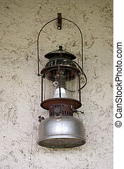 Old lantern vintage hanging on