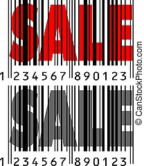 Sale with barcode