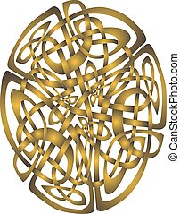 Celtic Ornament - Abstract Celtic patterns with knot designs...