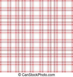 Seamless, Cor-de-rosa, &, branca, xadrez