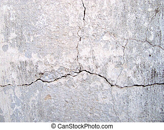 old wall background - The texture of the concrete wall